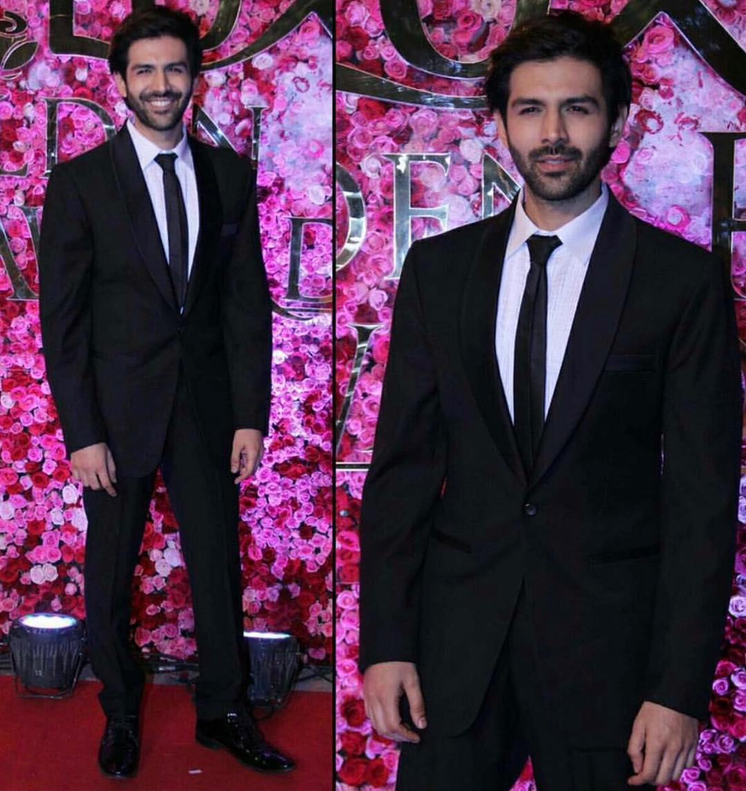Kartik Aaryan In Pawan And Pravan Haute Couture Indian