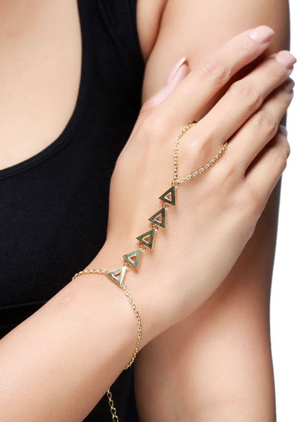 LeCalla | Triangle Links Hand Harness | Shop Hand Harnesses at ...