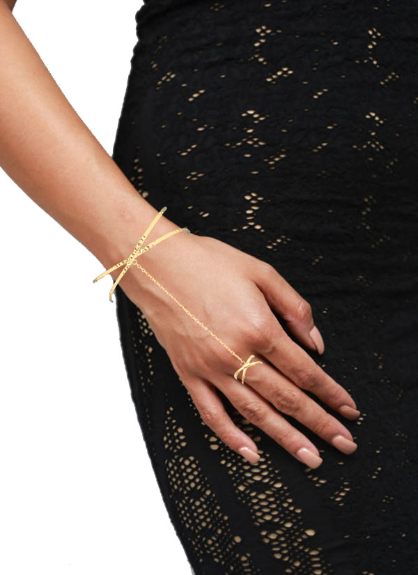 LeCalla | Cuff Bangle Hand Harness | Shop Hand Harnesses at ...