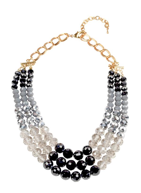 Rhea | Rainstorm Bubbles Necklace | Shop Necklaces at strandofsilk.com