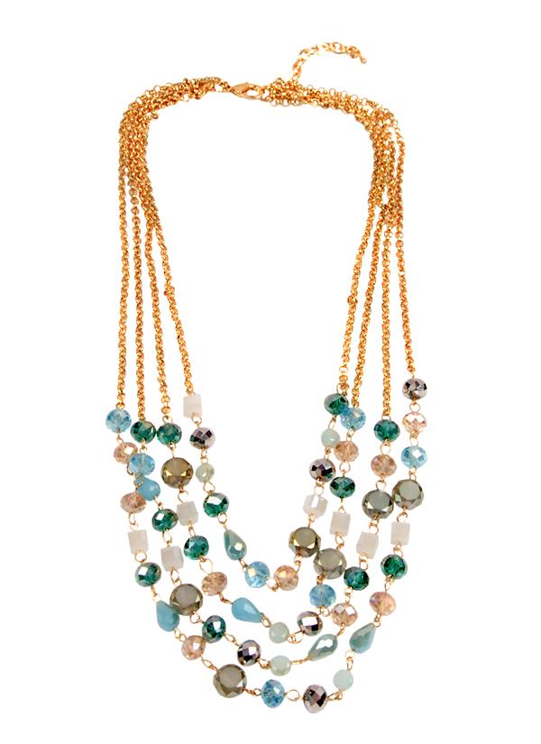 Rhea | Drops of Jupiter Necklace | Shop Necklaces at strandofsilk.com