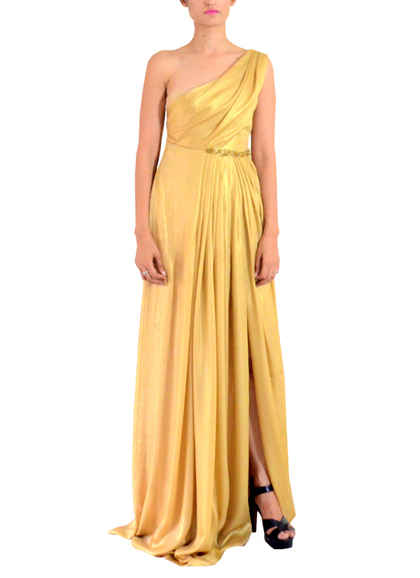 d6441f0126 Indian Fashion Designers - Michelle Salins - Contemporary Indian Designer  Clothes - Gowns - MS-
