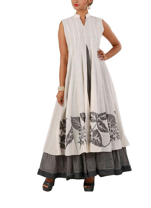 Myoho lovely double layered dress shop dresses at for Designer shoppen
