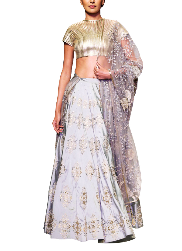 33ccd98a42 Indian Fashion Designers - Siddhartha Tytler - Contemporary Indian Designer  Clothes - Lehengas - ST-