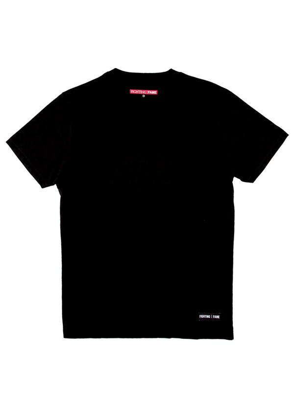 Fighting Fame | Basic Black Crew Neck T-Shirt | Shop Tops at ...