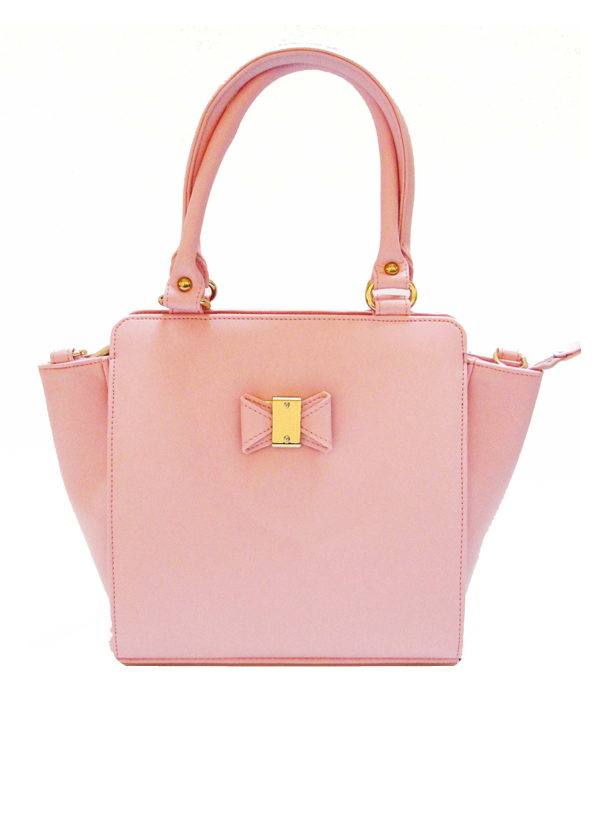4479a475b6b1 Indian Fashion Designers - Tresclassy - Contemporary Indian Designer - Baby  Pink Tote Bag - TC