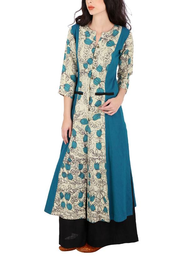 39e53f61a29 Indian Fashion Designers - Yosshita   Neha - Contemporary Indian Designer -  Linen And South Cotton