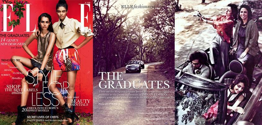 Graduates Interview Editorial Shot - Preeti Wanchoo Elle July 2013