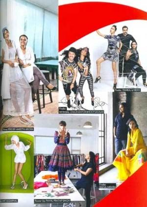 Payal Pratap Singh in Vogue April 2013