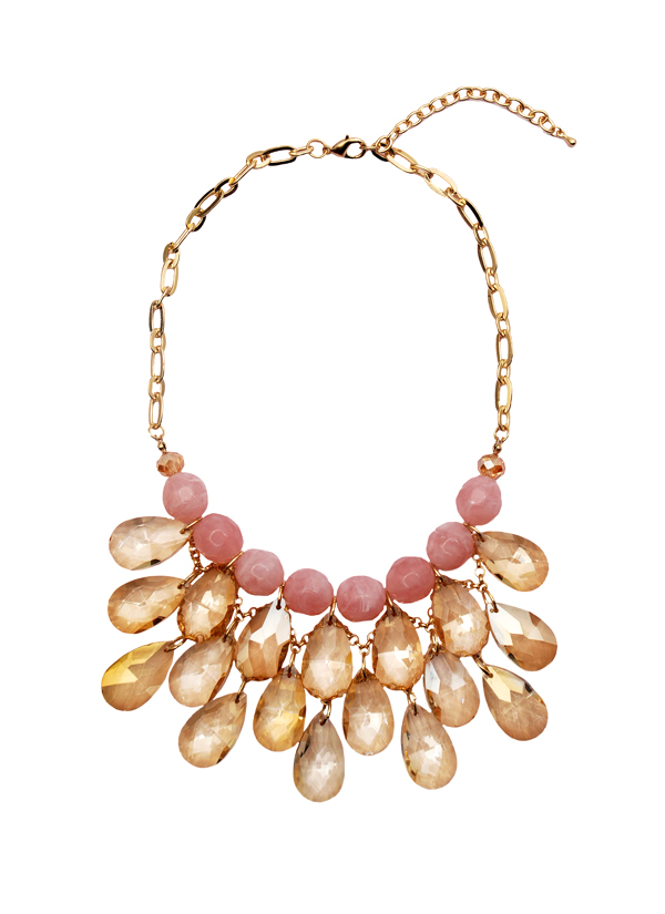 Rhea pink chandelier necklace shop necklaces at strandofsilk indian accessories designers rhea indian designer jewellery necklaces rh ss15 aloadofball Images
