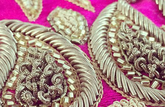 Discover and shop dabka embroidery collections from india