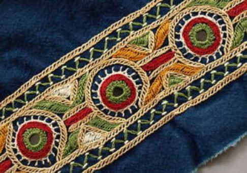 Gujarat Mirror Work Vibrant Colours And Motifs In Kutch