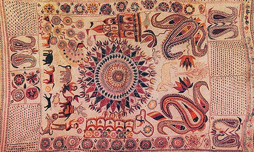 West bengal kantha embroidery the story behind origin of kantha