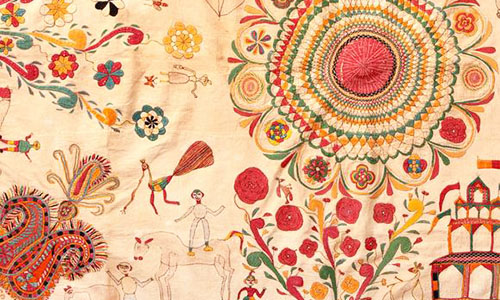 West Bengal Kantha Embroidery The Intricacy Of Kantha Designs