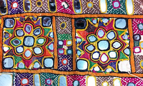 Gujarat Mirror Work Lustrous Designs Of Mirror Work