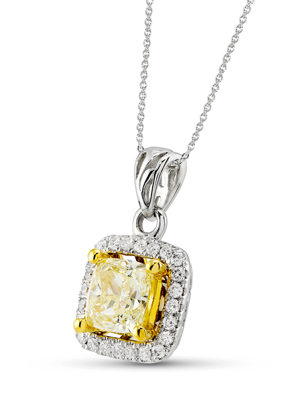Strand of silk yellow diamond pendant necklace shop at strand of silk yellow diamond pendant necklace shop at strandofsilk mozeypictures Images