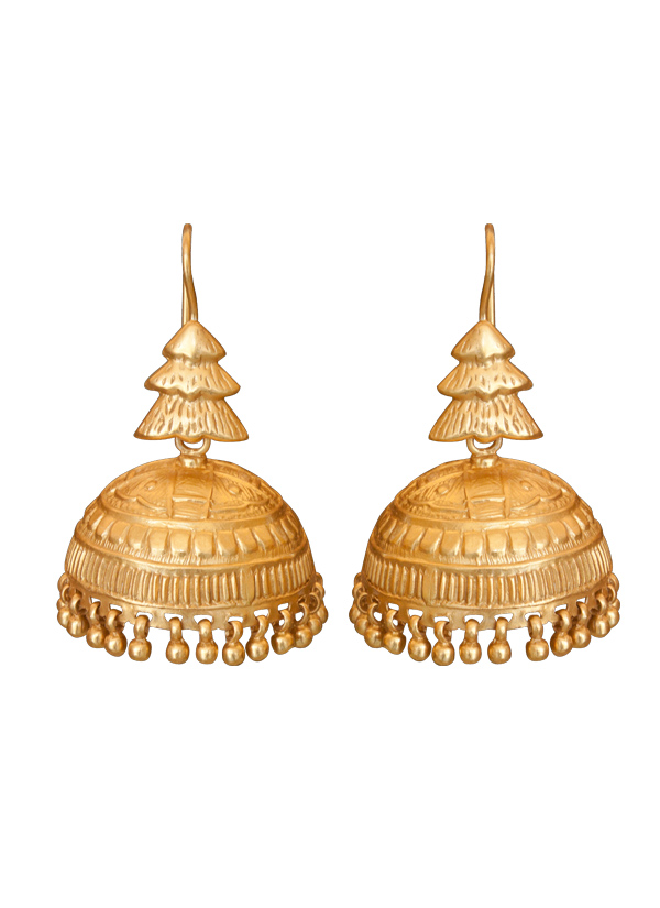 Roopa Vohra | Tiered Design Jhumkas | Shop Earrings at ...