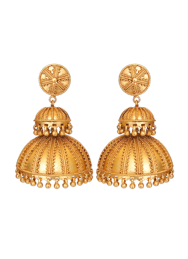 Indian Accessories Designers Roopa Vohra Designer Jewellery Earrings Rv