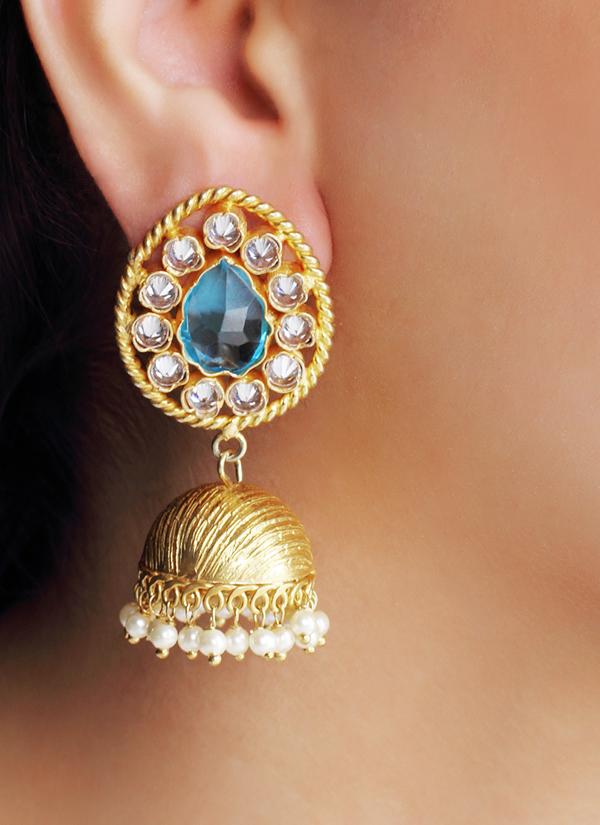 b7b8de76e65db3 ... Indian Accessories Designers - Urban Dhani - Indian Designer Jewellery  - Designer Earrings - UD-