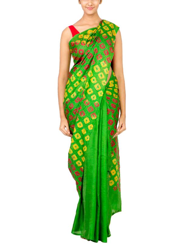dace919cae Indian Fashion Designers - Coorv - Contemporary Indian Designer Clothes -  Sarees - CRV-AW15