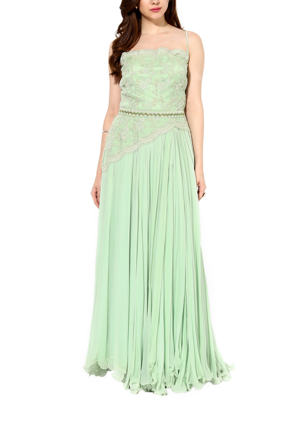 House of Trove | Lovely Minted Green Gown | Shop Gowns at ...