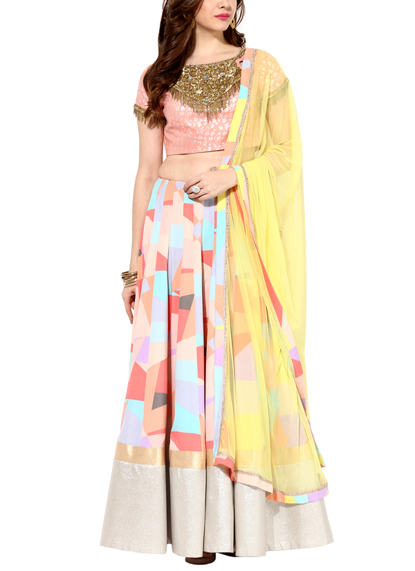 Indian Fashion Designers   House Of Trove   Contemporary Indian Designer    Lehangas   HT