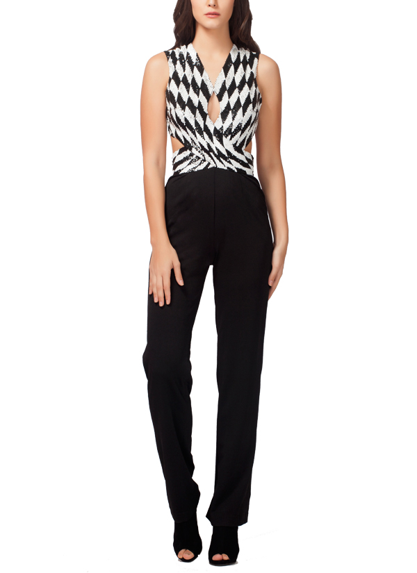 kashmiraa stylish checkered jumpsuit shop jumpsuits at