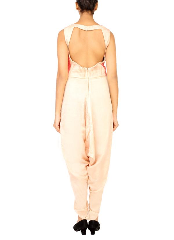 748726ea2fe ... Indian Fashion Designers - Radhika Gulati - Contemporary Indian  Designer - Jumpsuits - RG-AW15