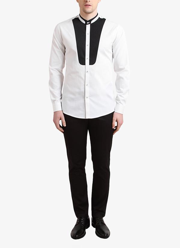 Alvin Kelly | White Printed Casual Shirt | Shop Shirts at ...