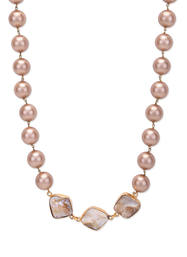 Paisley Pop Alize Mother Of Pearls Necklace Shop Necklaces At Strandofsilk Com