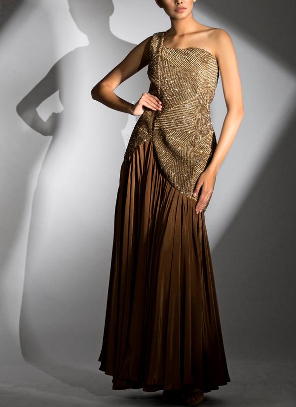 Shruti Singla One Shoulder Asymmetrical Dress Shop