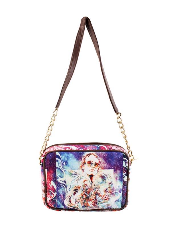 The Purple Sack | Elton John Sling Bag | Shop Bags at strandofsilk.com