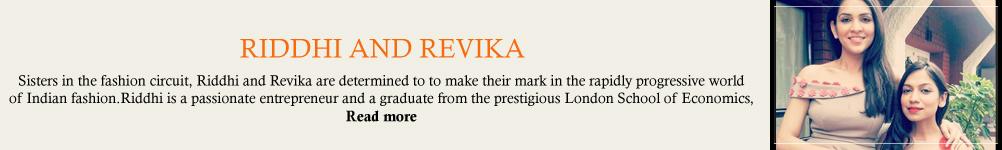 Riddhi and Revika