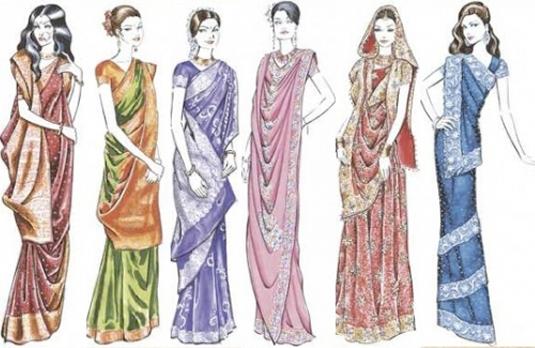Unusual Saree Draping Styles Indian Fashion Blog