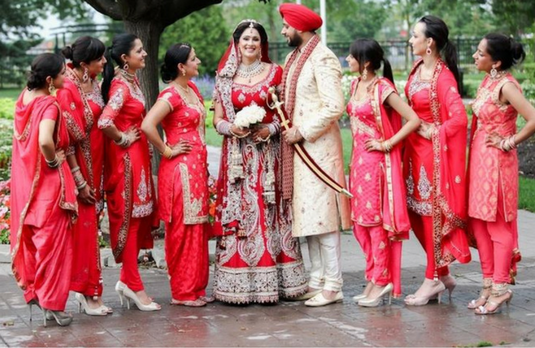 Shopping for Indian Bridesmaid Dresses and Outfits like a PRO ...