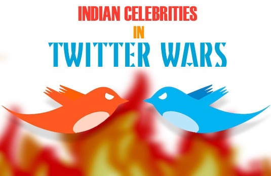 Indian Celebrities Nasty Twitter Troll Feuds   Indian Celebrities in Twitter Fights   The Best Twitter Fights of Bollywood
