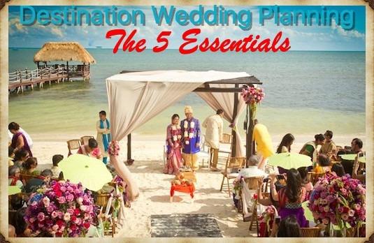 5 Indian Destination Wedding Planning Tips