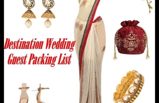 Destination Wedding Guest Packing List