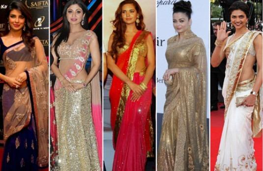 Bridal saree colours