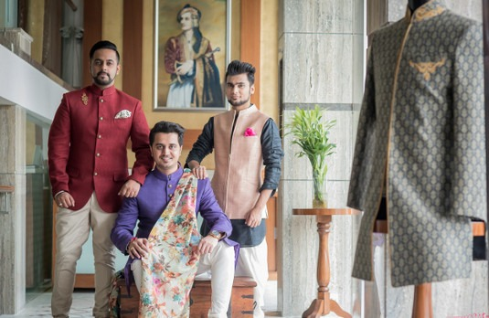 Grooms in Indian Suits | Mens Formal Indian Wedding Outfits and Suits