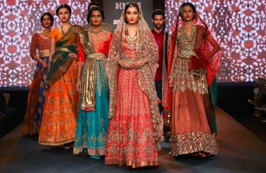 Indian Bridal Wear Trends of 2016-Indian Weddings