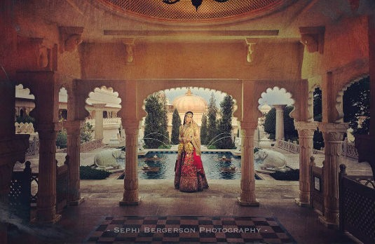 Photo of the Bride by Sephi Bergerson | It's a Brave New World for Wedding Photography