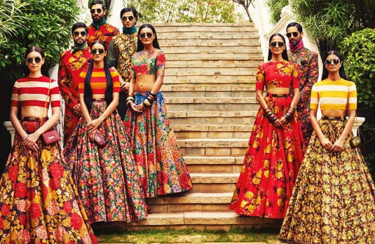 Colourful  Floral Lehengas | Latest Indian Bridal Wear Trends