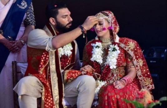 Yuvraj Singh Hazel Keech Wedding   The Big Fat Indian Cricket Wedding