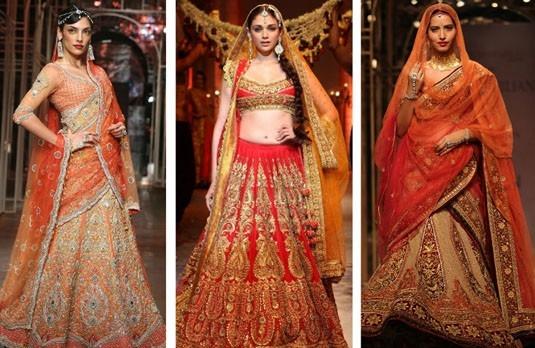 top indian wedding dress designer in India