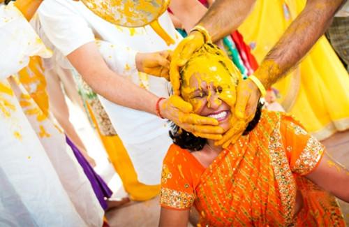 Modern Indian Wedding Dresses for the Haldi Ceremony