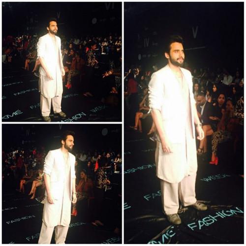Jackky Bhagnani in Antar Agni by Ujjawal Dubey at Lakme Fashion Week 2015