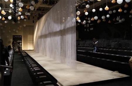 All You Need to Know about Lakme Fashion Week Winter Festive Edition 2015 - Ramp being Prepared