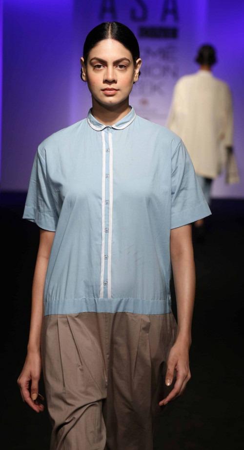 Asa Kazingmei at Lakme Fashion Week - AW16 - Look 2