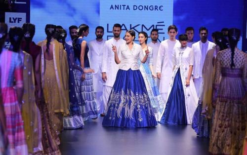 Anita Dongre-ANITA DONGRE AT LAKME FASHION WEEK - AW16 - LOOK 16